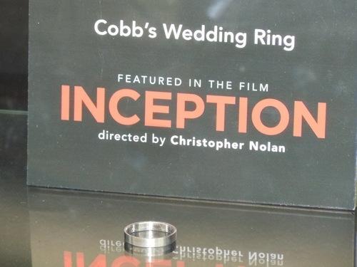 DomAriadne images Cobbs wedding ring worn by Leonardo DiCaprio in