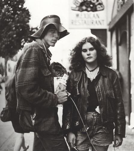 Dakini and friend. Berkely 1972. C Richard Misrach 1974