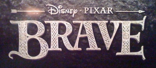 Disney*Pixar Merida - Legende der Highlands Logo- Coming 2012