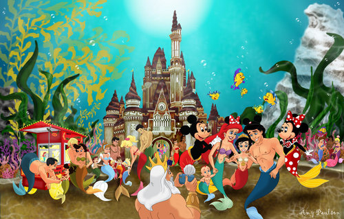 disney World Under the Sea