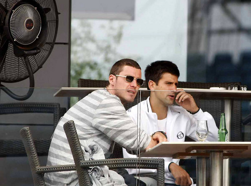 Djokovic and Marat Safin..