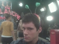 Drew Roy in the Backstage of Hannah Montana