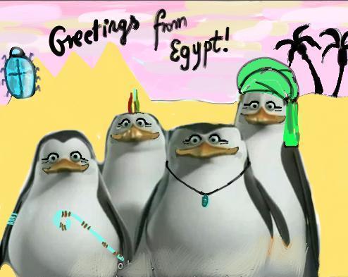 Egyptian Penguins XD