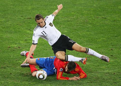España - Germany WM 2010