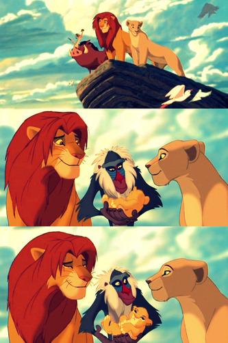 Eva loves the Lion King