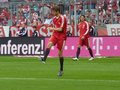 FC Bayern München - Werder Bremen Müller warming up
