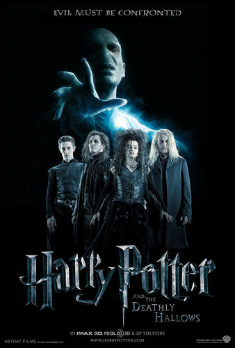 Fanmade Deathly Hallows poster.