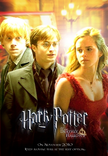 Fanmade Deathly Hallows poster