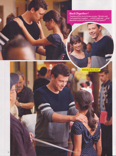 glee wallpaper entitled Finchel