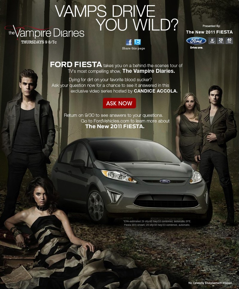 Ford Fiesta Promotion