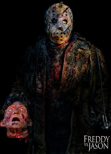 Freddy Head &amp; Douglas Tait (Jason) - freddy-krueger Photo