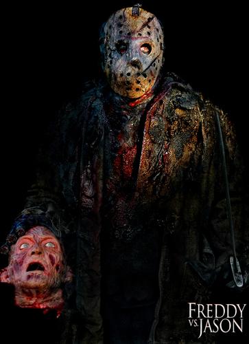 Freddy Krueger wallpaper titled Freddy Head & Douglas Tait (Jason)