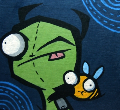 GIR and DEATH BEE