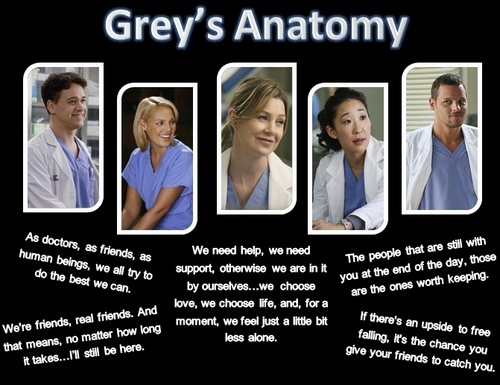 Grey's Anatomy پیپر وال titled Grey's Anatomy