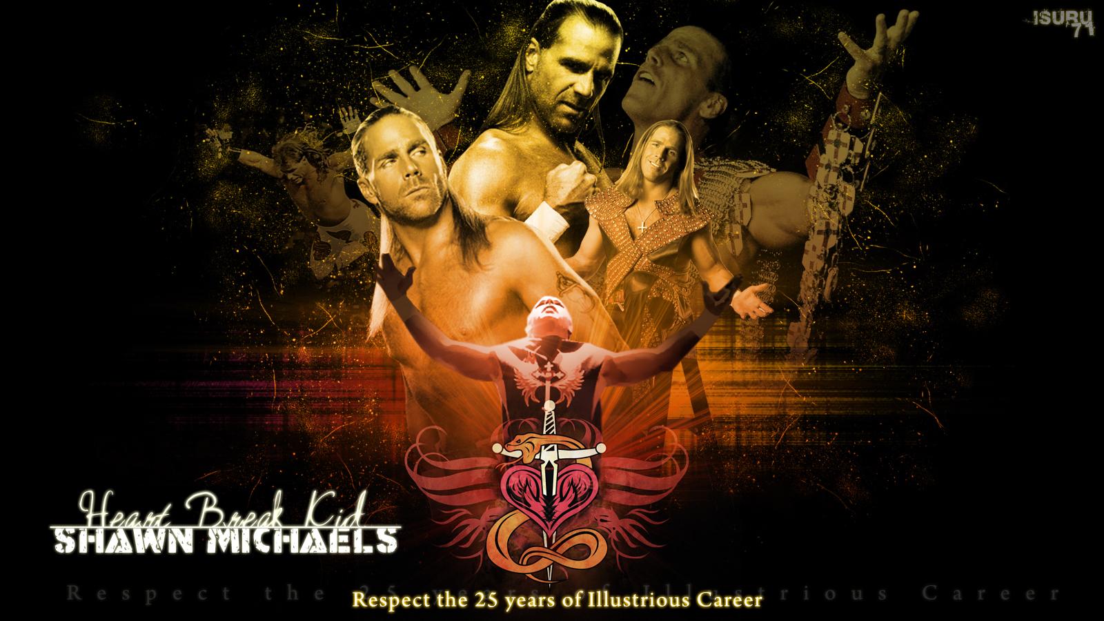HBK - Shawn Michaels Wallpaper - 1204.8KB