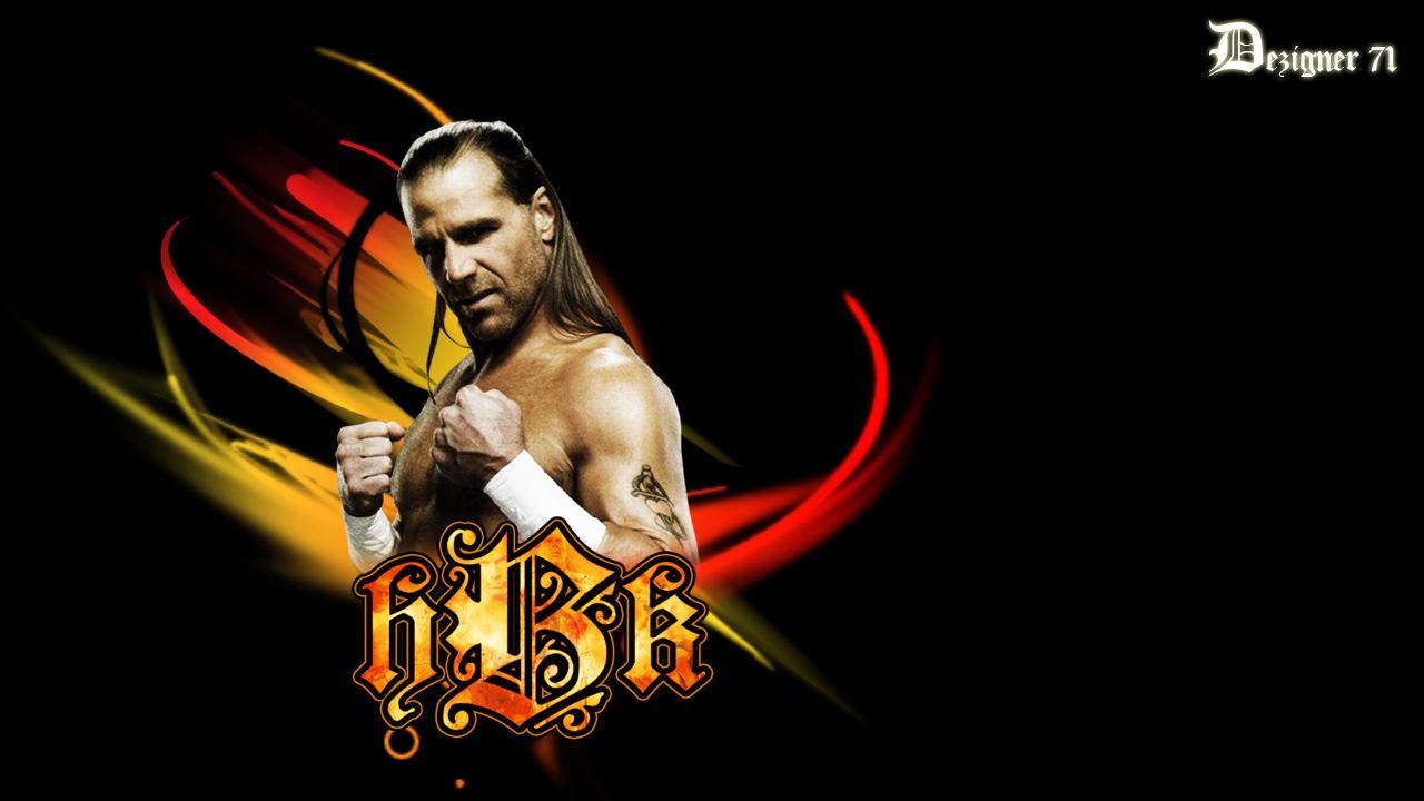 HBK - Shawn Michaels Wallpaper - 325.5KB