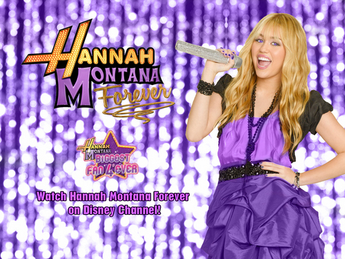 Hannah Montana forever imej as a part of 100 days of hannah sejak dj!!!