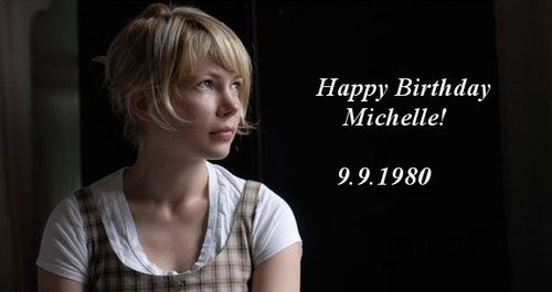 Michelle Williams wallpaper with a portrait titled Happy Birthday Michelle Williams!