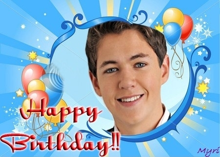 Damian McGinty wallpaper possibly containing anime titled Happy Birthday!!