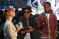 Hayley Williams, B.o.B. & Bruno Mars VMA Rehearsals - paramore photo