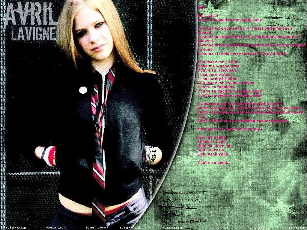 Hot Lyrics - Avril Lavigne Photo (15487622) - Fanpop Avril Lavigne Lyrics