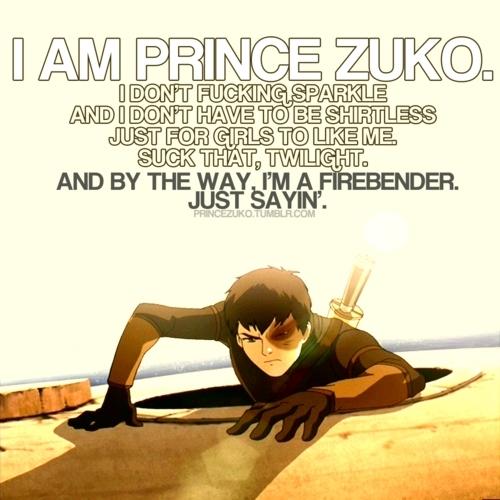 I love u Zuko!!!