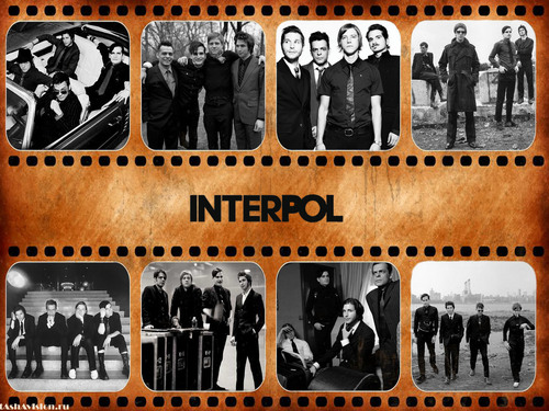 Interpol retro - interpol Wallpaper