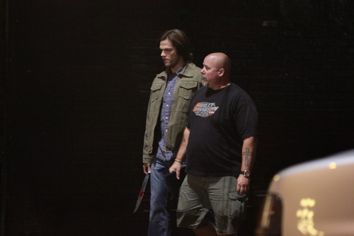 Jared At The Set Of Supernatural
