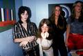 Joan, Jackie, Lita & Sandy Backstage @ CBGB - 1976