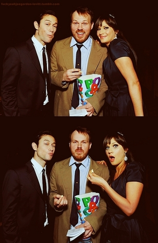 Joe, Marc Webb and Zooey