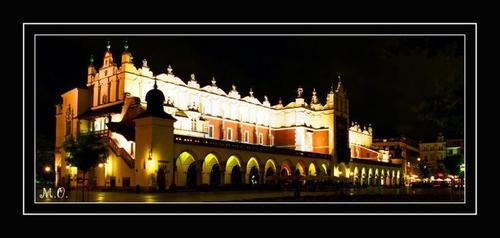 Krakow par night, Poland