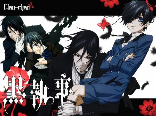 Kuroshitsuji....Sebastian y Ciel