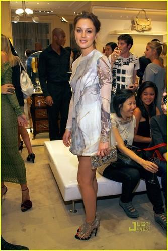 Leighton @ Roger Vivier boutique & Chloe store