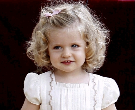 Leonor of spain as Renesmee