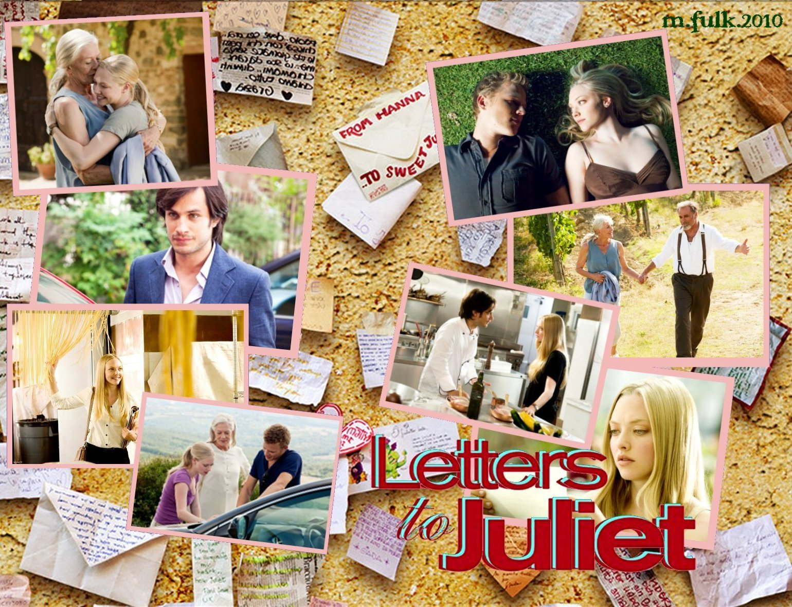 Letters to juliet wall