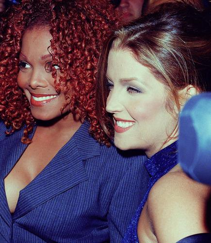 Lisa Marie,Janet Jackson