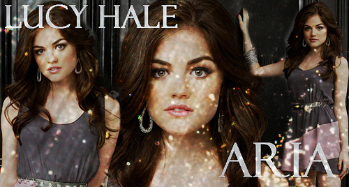 Lucy Hale=Aria Montgomery