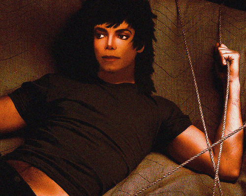 MJ Photoshop Art