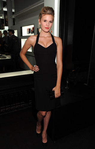 Maggie at the Chanel SoHo Boutique reopening in NYC - 09/09/10