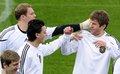 Manuel Neuer, Mesut Özil & Thomas Müller