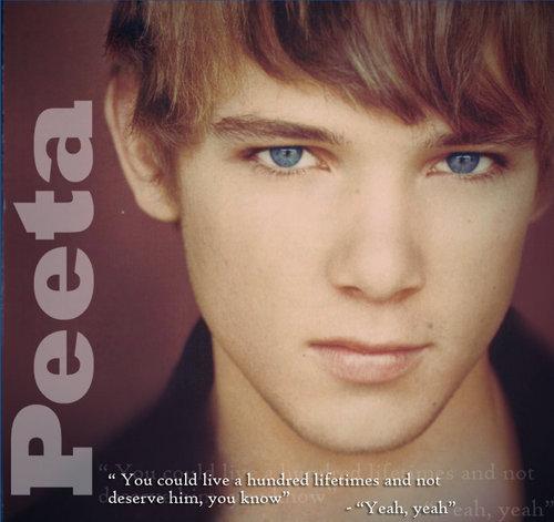 Max Thieriot as Peeta