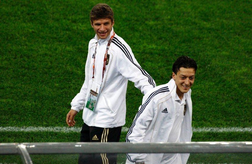 Mesut Özil &Thomas Müller