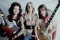 Micki Steele, Sandy West & Joan Jett - 1975 - the-runaways photo