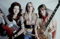 Micki Steele, Sandy West & Joan Jett - 1975
