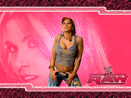 Mickie James Обои probably containing a купальник entitled Mickie