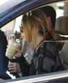 Miley out in Studio City
