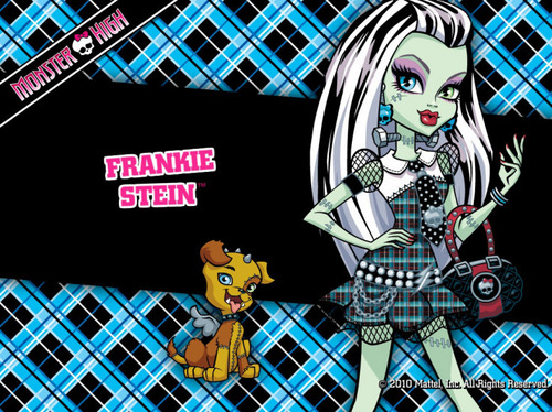 Monster High wallpaper with a chainlink fence and anime titled Monster High ;)