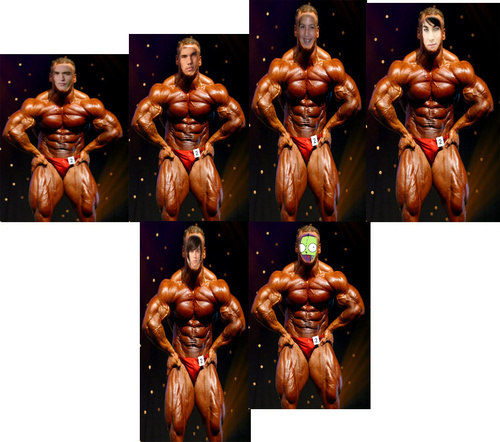 Munro and other as body builders!!!! - munro-chambers Photo