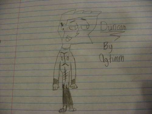 My Drawing of Duncan!