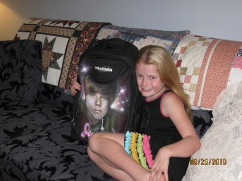 Myah hangin' with Justin